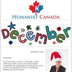 Humanist Canada November 2020 Newsletter